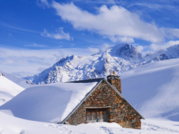 chalet buffe hiver