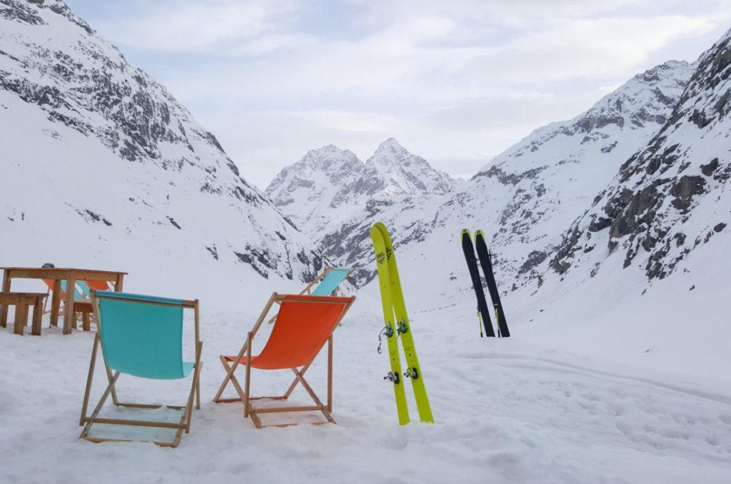 Refuge du Chatelleret hiver ©Véronique Gnema