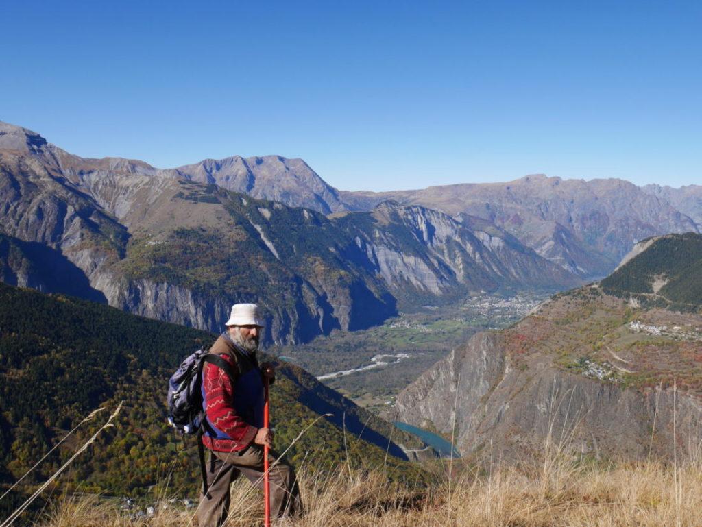 Le berger des deux alpes