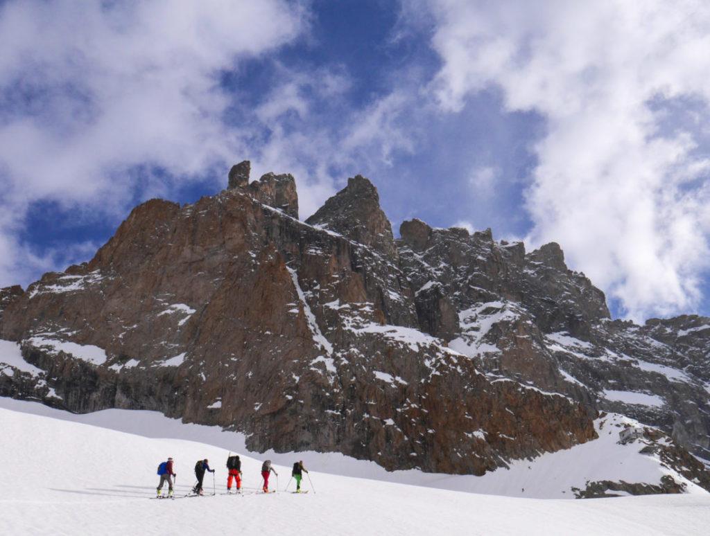 ski de rando promontoire