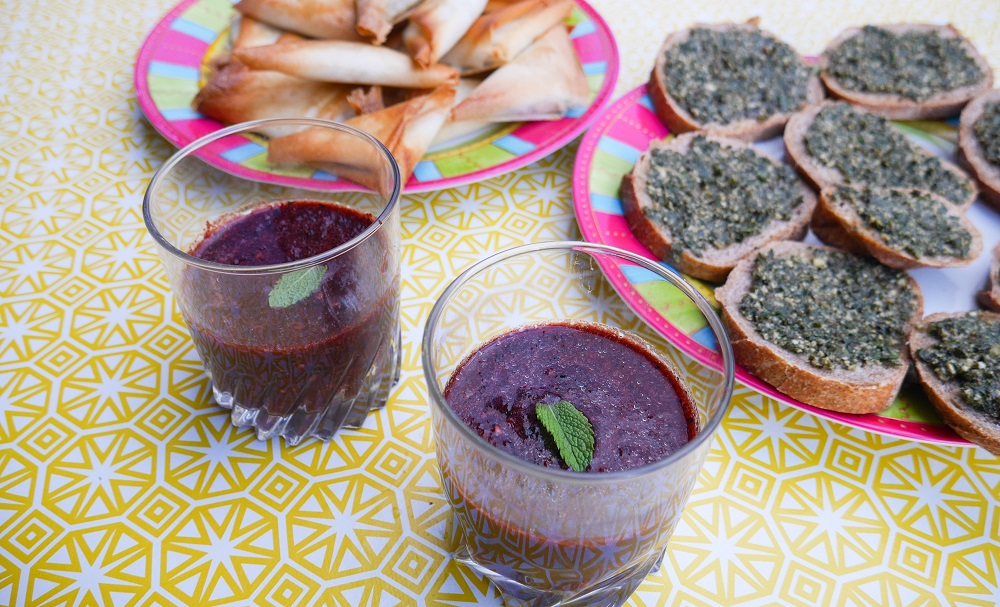gaspacho fruits sauvages