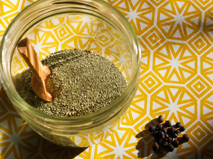 sel aux herbes recette