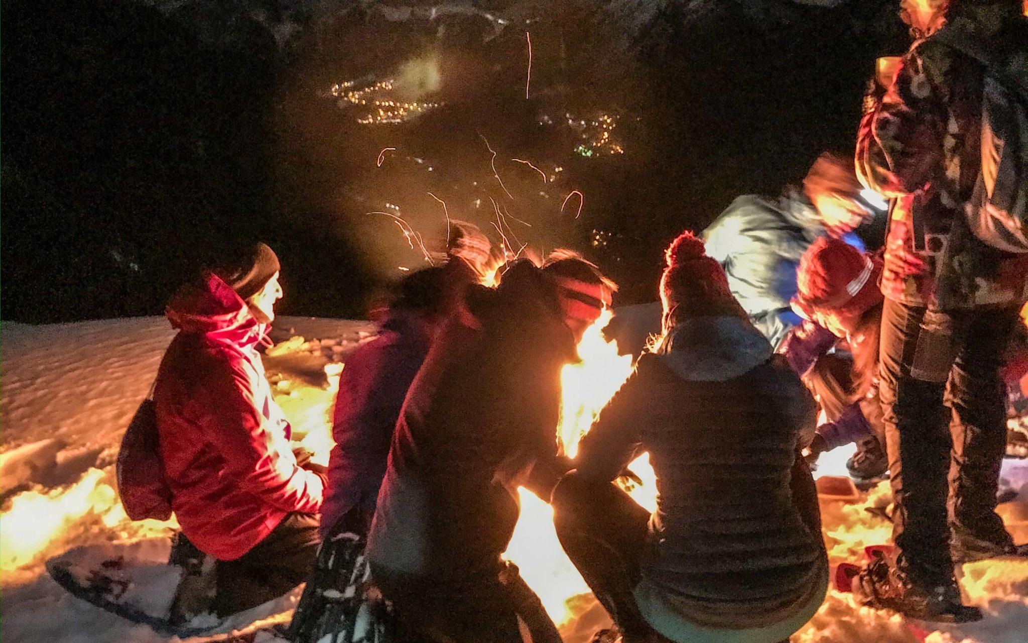 plein feux Mont-Blanc
